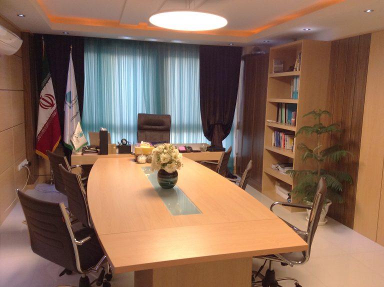 طراحی و اجرای فضای داخلی شرکت مهرو ماه، تهران سال1393