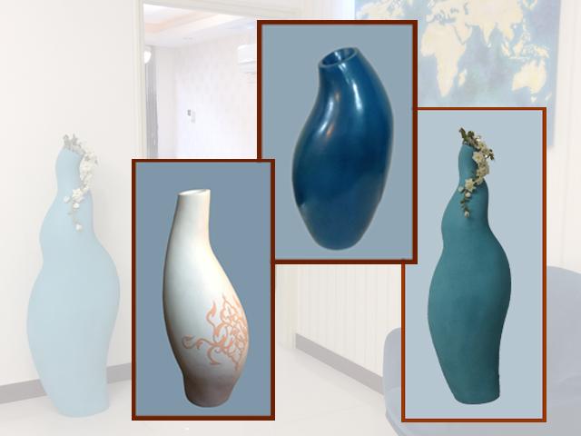 طراحی و ساخت گلدان | حدیث کماسی